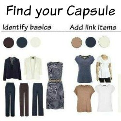 Find your Capsule Wardrobe #capsulewardrobe  http://www.style-yourself-confident.com