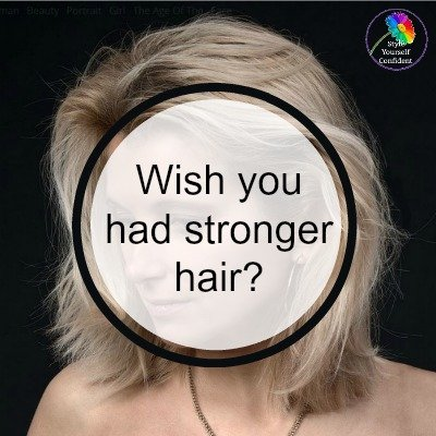 Wish you had stronger hair? #stronger hair https://www.style-yourself-confident.com/stronger-hair.html