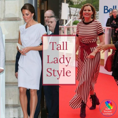 Style advice for tall lady #tall lady #Jerry Hall https://www.style-yourself-confident.com/tall-lady.html