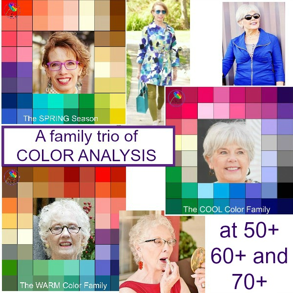 Color Analysis for any age #coloranalysisatanyage #coloranalysismature https://www.style-yourself-confident.com/color-analysis-for-any-age.html