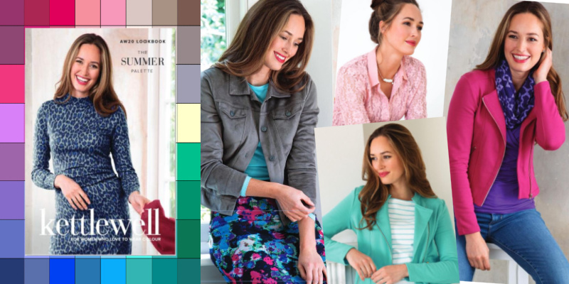 Kettlewell Colours, ethical and sustainable clothing for women who love color! #kettlewellcolours #coloranalysis #colorswatch https://www.style-yourself-confident.com/kettlewell-colours.html