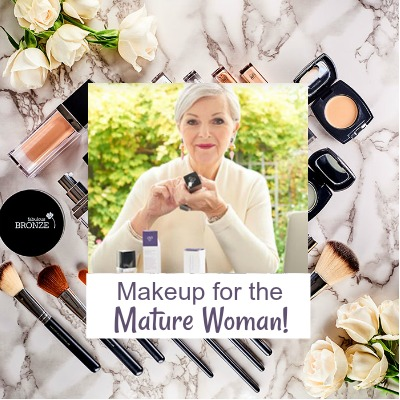 Look Fabulous Forever - makeup for the mature woman https://www.style-yourself-confident.com/look-fabulous-forever.html