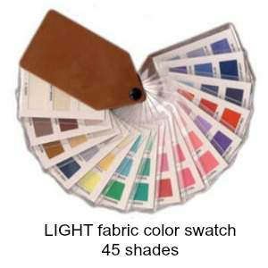 Light fabric color swatch with 45 shades #color analysis #color swatch #Light color family http://www.style-yourself-confident.com/light-spring.html