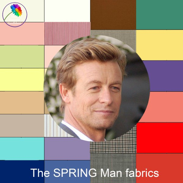 The Spring man #coloranalysisformen #coloranalysis #menscolor #springman https://www.style-yourself-confident.com/the-spring-man.html