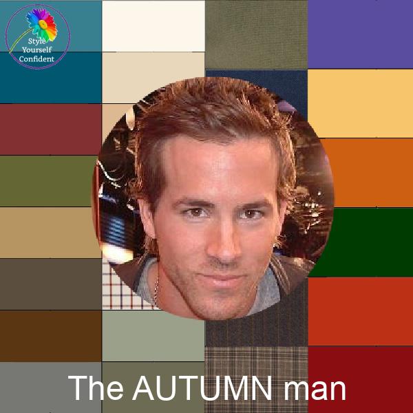 The Autumn man #coloranalysis #coloranalhsisformen #autumnformen https://www.style-yourself-confident.com/the-autumn-man.html