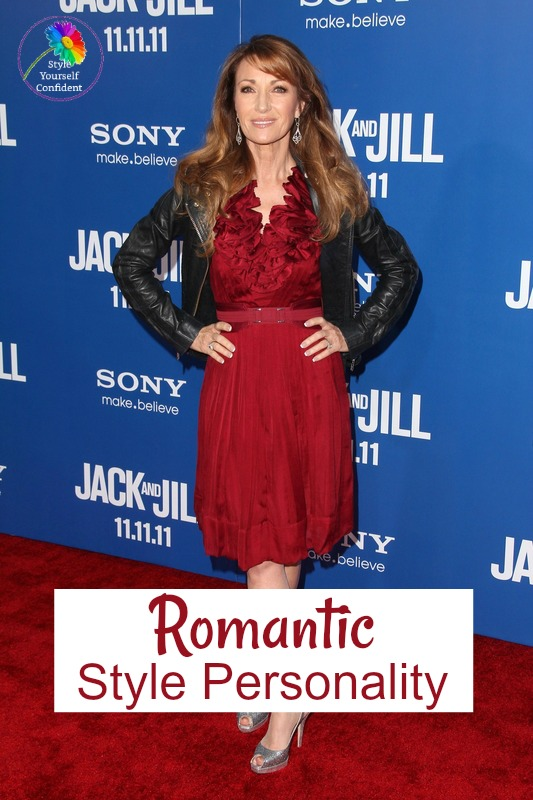 Romantic style personality #romanticstyle https://www.style-yourself-confident.com/romantic-style-personality.html