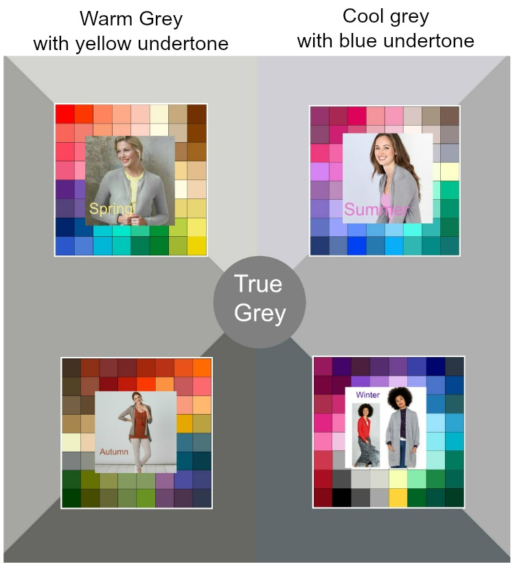 Who needs 50 shades of grey? #shadesofgrey  https://www.style-yourself-confident.com/shades-of-grey.html