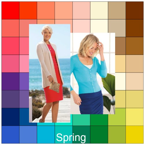 Clear Spring - you may be diluting your color palette #clear spring #color analysis  https://www.style-yourself-confident.com/clear-spring.html
