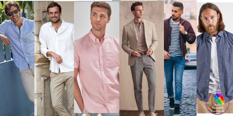 The Summer man #coloranalysisformen #coloranalysis #menscolor #summerman https://www.style-yourself-confident.com/the-summer-man.html
