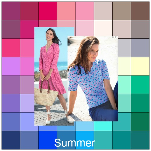Light Summer - you may be diluting your color palette #light summer #color analysis  https://www.style-yourself-confident.com/light-summer.html