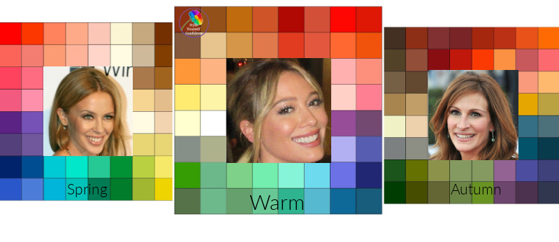 Color Analysis Warm #coloranalysiswarm #warmcolors #warmcolorfamily https://www.style-yourself-confident.com/color-analysis-warm.html