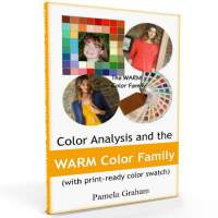 Color Analysis and the Warm color family #color analysis books #warm colors  http://www.style-yourself-confident.com/style-books.html