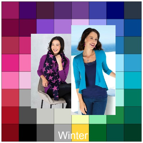 Cool Winter - you may be diluting your color palette #cool winter #color analysis  http://www.style-yourself-confident.com/cool-winter.html