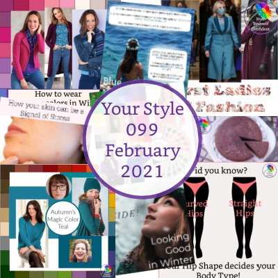 Style Yourself Confident newsletter #onlinecoloranalysis #coloranalysis #bodyshape https://www.style-yourself-confident.com/style-yourself-confident-newsletter.html