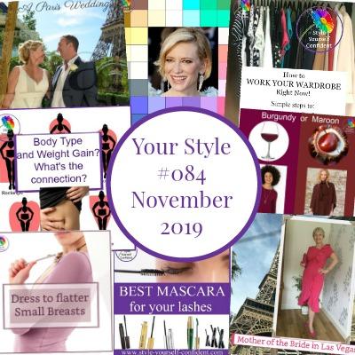 Style Yourself Confident newsletter #onlinecoloranalysis #coloranalysis #bodyshape https://www.style-yourself-confident.com/style-yourself-confident-newsletter.html
