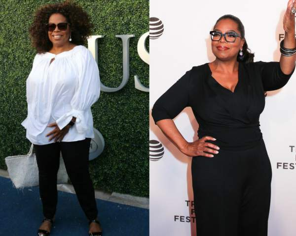 Oprah Winfrey is an Apple shape #appleshape #applebodyshape https://www.style-yourself-confident.com/dress-an-apple-shape.html