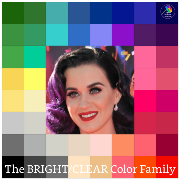 Clear Winter - you may be diluting your color palette #clear winter #color analysis  http://www.style-yourself-confident.com/clear-winter.html