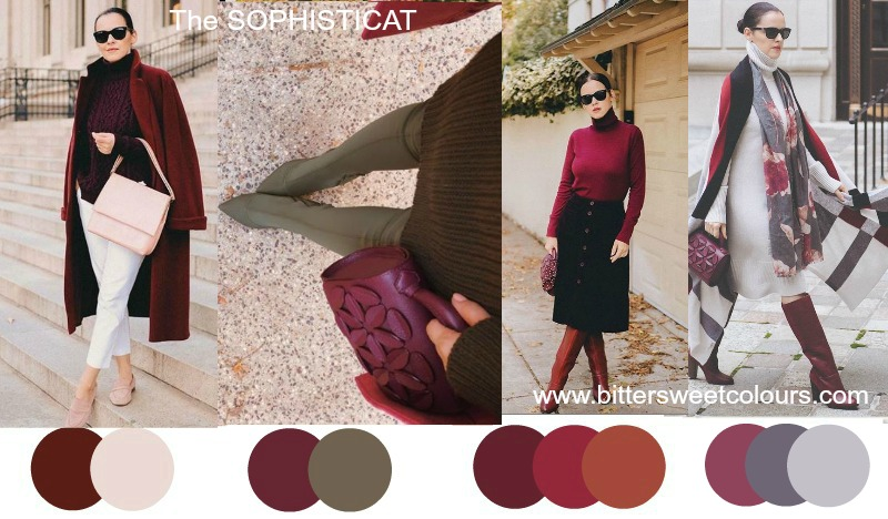 How to wear Burgundy 30 ways #wearburgundy https://www.style-yourself-confident.com/how-to-wear-burgundy.html