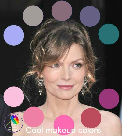 If you have a cool or blue undertone to your skin you should choose Cool makeup shades to flatter your natural coloring. #coolmakeup https://www.style-yourself-confident.com/cool-makeup.html