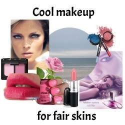 A Cool skin tone means that cool/blue colors will flatter you #coolcoloring #coolmakeup #coolskin  https://www.style-yourself-confident.com/cool-skin-tone.html