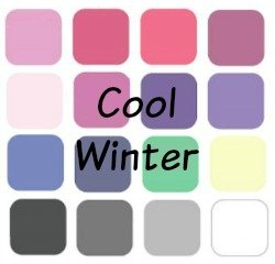 Winter is always Cool, always Deep and always Bright #cool winter #winter coloring https://www.style-yourself-confident.com/cool-winter.html