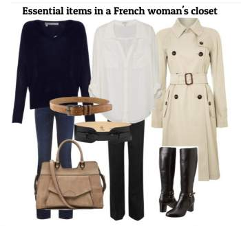 French fashion style #french style  http://www.style-yourself-confident.com/french-fashion-style.html