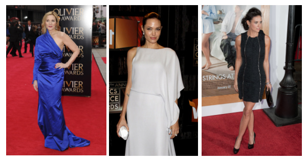 Inverted triangle body shape #inverted triangle #Inverted triangle celebrities #Kim Catrall #Demi Moore #Angelina Jolie http://www.style-yourself-confident.com/inverted-triangle-body-shape.html