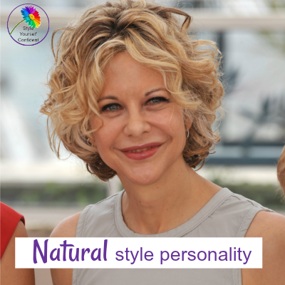 Natural style personality #natural style #megryan https://www.style-yourself-confident.com/natural-style-personality.html