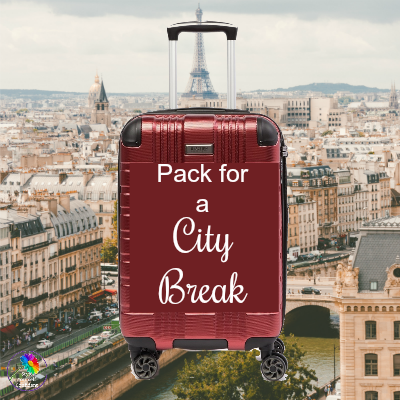Pack for a city break or just up your look for Spring! #packforcitybreak #parisbreak #citybreak https://www.style-yourself-confident.com/pack-for-a-city-break.html