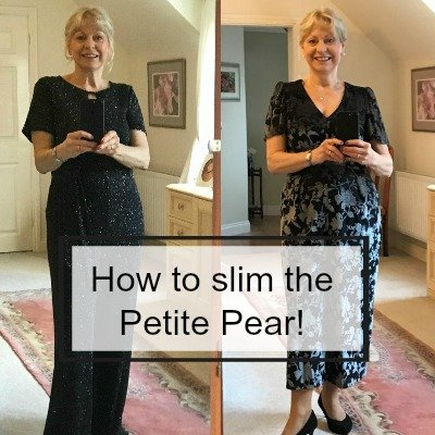 Slim the petite pear #pearshape #petitepear #bodyshape https://www.style-yourself-confident.com/slim-the-petite-pear.html