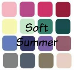 Summer is always LIGHT, SOFT and COOL Don't dilute this beautiful color palette #Summer #Soft Summer #Light Summer #Cool summer #color analysis https://www.style-yourself-confident.com/soft-summer.html