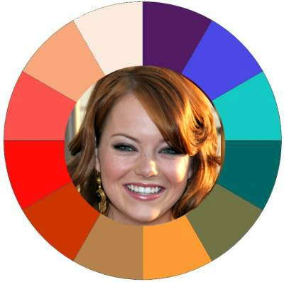 Color analysis Warm #warm color family #Emma Stone http://www.style-yourself-confident.com/color-analysis-warm.html